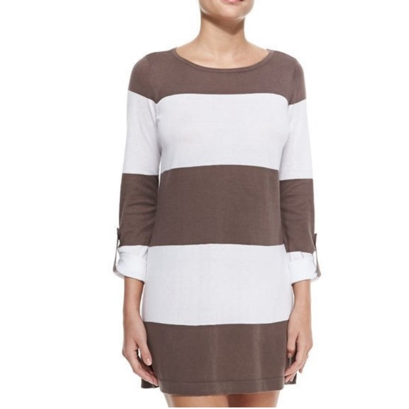 Tommy Bahama Dresses & Skirts - 🔥 SALE Tommy Bahama Beach Sweater taupe and White